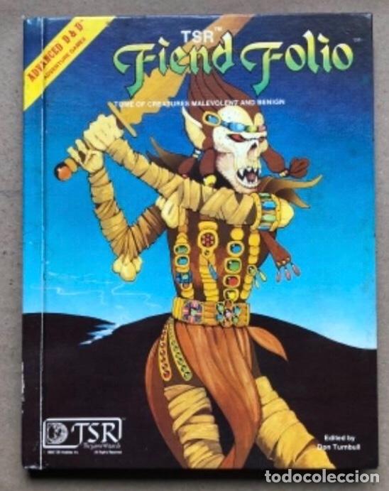 Juegos Antiguos: DUNGEON MASTERS GUIDE Y FIEND FOLIO. ADVANCED D & D AVENTURE GAMES. TSR GAMES. - Foto 12 - 150251266