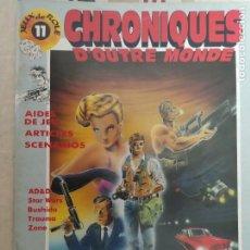Juegos Antiguos: CHRONIQUES DOUTRE MONDE Nº11 EN FRANCÉS. JUEGOS DE ROL. Lote 211637397