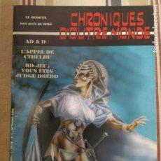 Juegos Antiguos: CHRONIQUES DOUTRE MONDE EN FRANCÉS. JUEGO DE ROL. Lote 211638240