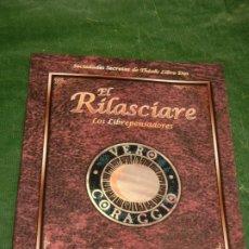 Juegos Antiguos: 7º MAR: EL RILASCIARE. LOS LIBREPENSADORES - SOCIEDADES SECRETAS THEAH LIBRO DOS - LF7M352 2002. Lote 211664976
