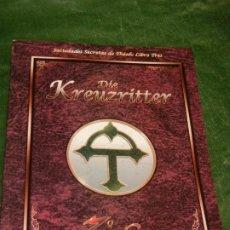 Juegos Antiguos: 7º MAR: DIE KREUZRITTER - SOCIEDADES SECRETAS THEAH LIBRO TRES - LF7M352 2002. Lote 211665069