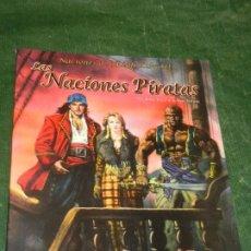 Juegos Antiguos: 7º MAR: LAS NACIONES PIRATAS - NACIONES DE THEAH LIBRO II - LF7M302 2000. Lote 211665425