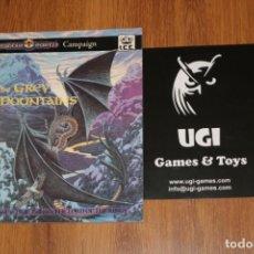 Juegos Antiguos: GREY MOUNTAINS MERP MIDDLE-EARTH ICE IRON CROWN JUEGO ROL JOC CAMPAIGN TOLKIEN 1992 SEÑOR ANILLOS. Lote 211666988