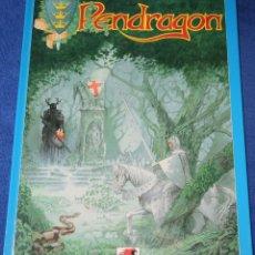 Juegos Antiguos: PENDRAGON - GREGG STTAFORD - ORIFLAM (1992) ¡LIBRO EN FRANCÉS! ¡IMPECABLE!. Lote 211678363