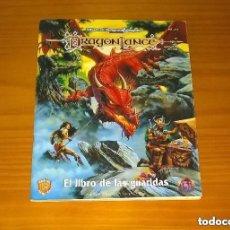 Juegos Antiguos: DRAGONLANCE EL LIBRO DE LAS GUARIDAS JUEGO DE ROL ADVANCED DUNGEONS & DRAGONS TSR ZINCO REF. 215. Lote 211722296