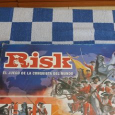 Juegos Antiguos: RISK DE PARKER EL JUEGO DE LA CONQUISTA DEL MUNDO. Lote 212253211