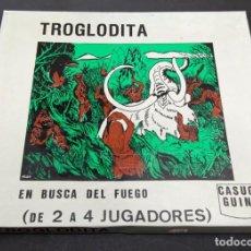 Juegos Antiguos: TROGLODITA, EN BUSCA DEL FUEGO - WARGAME - CASUGA GUINA - PRECINTADO. Lote 212886167