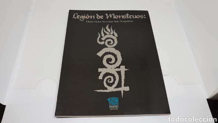 LEGION DE MONSTRUOS GUIA FOMORI LA FACTORIA DE IDEAS 1999 HOMBRE LOBO EL APOCALIPSIS (Juguetes - Rol y Estrategia - Juegos de Rol)