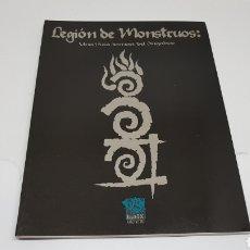 Juegos Antiguos: LEGION DE MONSTRUOS GUIA FOMORI LA FACTORIA DE IDEAS 1999 HOMBRE LOBO EL APOCALIPSIS. Lote 212893320