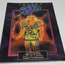 Juegos Antiguos: FACTOR CAOS LA FACTORIA DE IDEAS HISTORIA PARA VAMPIRO Y HOMBRE LOBO EL APOCALIPSIS 1997. Lote 212898072
