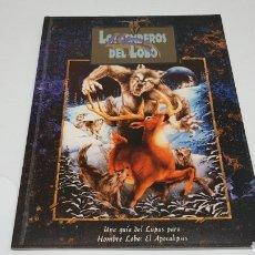 Giochi Antichi: LOS SENDEROS DEL LOBO LA FACTORIA DE IDEAS GUIA DEL LUPUS HOMBRE LOBO EL APOCALIPSIS 1997. Lote 212898258