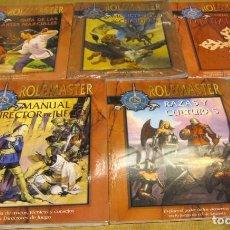 Jogos Antigos: ROL: MEGALOTE ROLEMASTER FACTORIA - 10 TOMOS - TODOS PRECINTADOS A ESTRENAR !!!. Lote 213693635