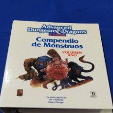 Juegos Antiguos: AD&D COMPENDIO DE MONSTRUOS. Lote 213754475