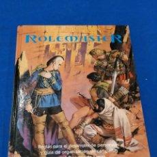 Juegos Antiguos: ROLEMASTER MANUAL DE PERSONAJES. Lote 213754628