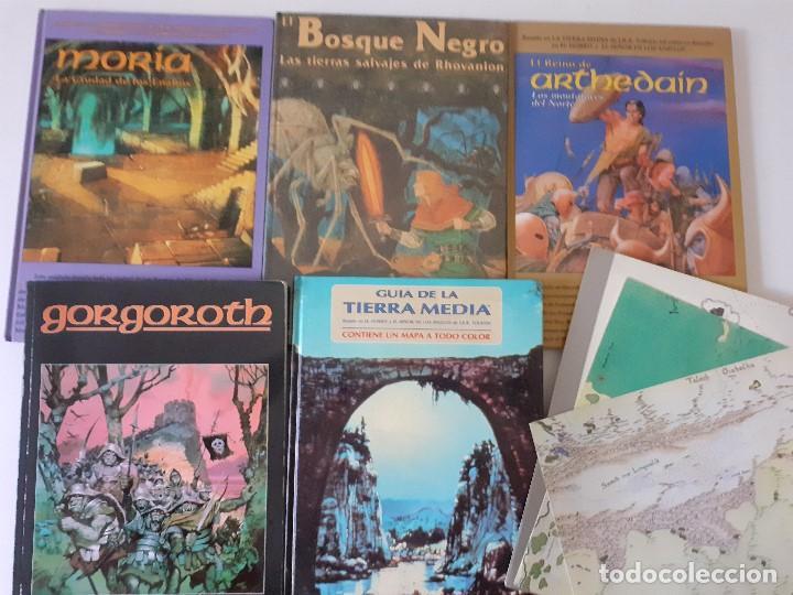 LOTE ESDLA - GORGOROTH - MORIA CIUDAD ENANOS - BOSQUE NEGRO TIERRAS SALVAJES - GUÍA - MAPAS Y MÁS (Juguetes - Rol y Estrategia - Juegos de Rol)