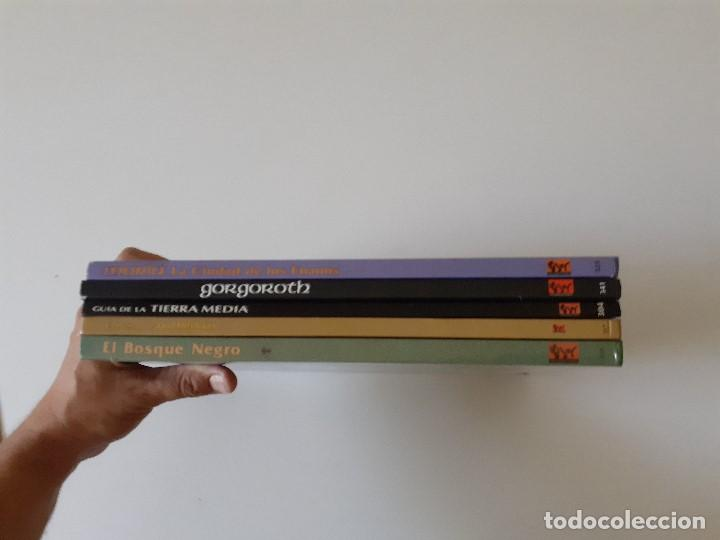 Juegos Antiguos: LOTE ESDLA - GORGOROTH - MORIA CIUDAD ENANOS - BOSQUE NEGRO TIERRAS SALVAJES - GUÍA - MAPAS Y MÁS - Foto 6 - 214579472