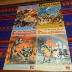Juegos Antiguos: FORAJIDOS BOSQUE NEGRO BOCAS DEL ENTAGUAS DAGORLARD Y LAS CIÉNAGAS DE LOS MUERTOS ERECH SENDEROS MBE. Lote 40201938
