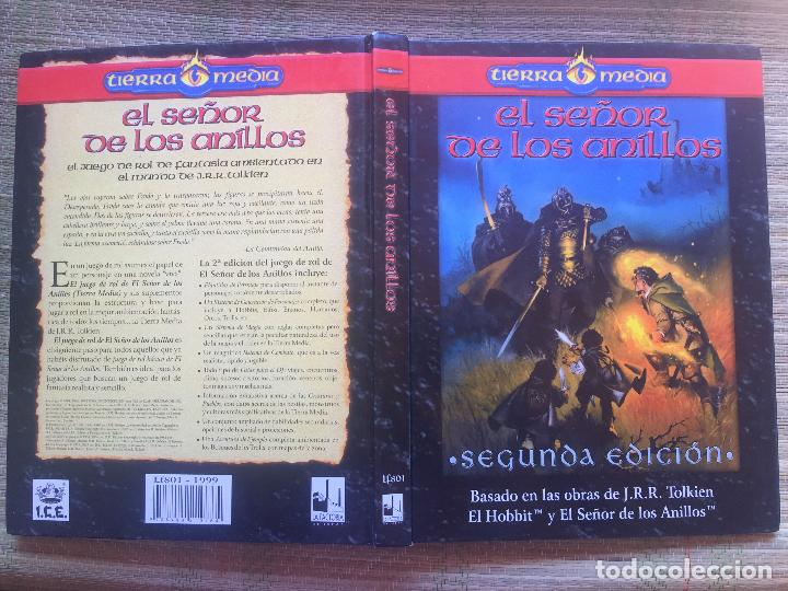 Juegos Antiguos: EL SEÑOR DE LOS ANILLOS - TIERRA MEDIA / LA FACTORIA DE IDEAS - Foto 3 - 215628712