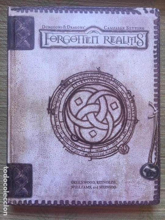 Juegos Antiguos: FORGOTTEN REALMS - DUNGEONS & DRAGONS / CAMPAIGN SETTING (EN INGLES) - Foto 1 - 215629602