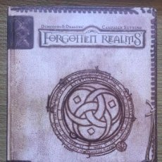 Juegos Antiguos: FORGOTTEN REALMS - DUNGEONS & DRAGONS / CAMPAIGN SETTING (EN INGLES). Lote 215629602