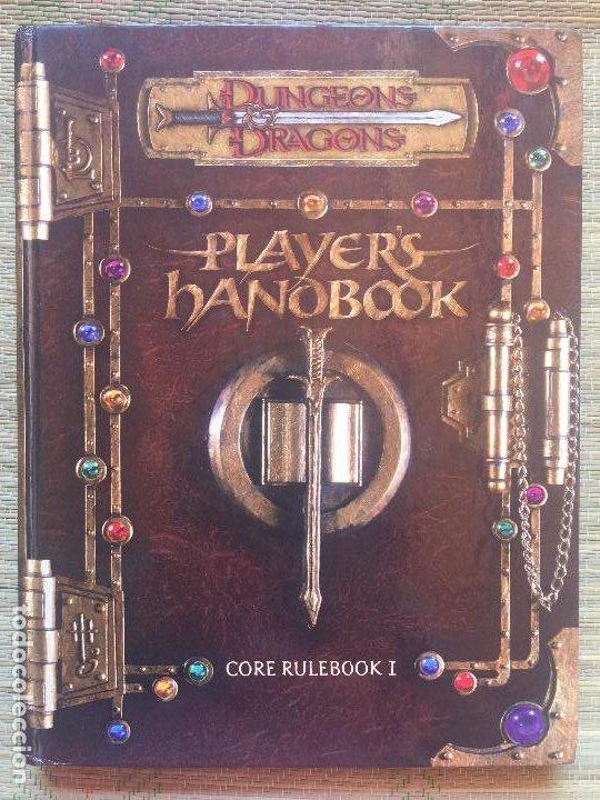 PLAYER'S HANDBOOK - DUNGEONS & DRAGONS / CORE RULEBOOK I (EN INGLES) (Juguetes - Rol y Estrategia - Otros)