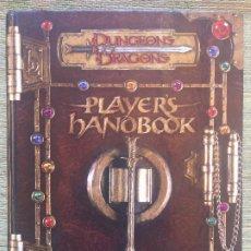 Juegos Antiguos: PLAYER'S HANDBOOK - DUNGEONS & DRAGONS / CORE RULEBOOK I (EN INGLES). Lote 215629768