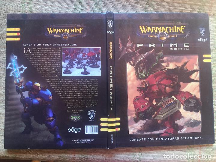 Juegos Antiguos: PRIME : REMIX / WARMACHINE - PRIVATER PRESS - Foto 3 - 215630938