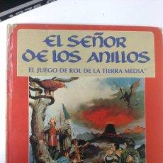 Juegos Antiguos: EL SEÑOR DE LOS ANILLOS, EL JUEGO DE ROL DE LA TIERRA MEDIA, 1ª EDICION JOC INTERNACIONAL. Lote 215793032