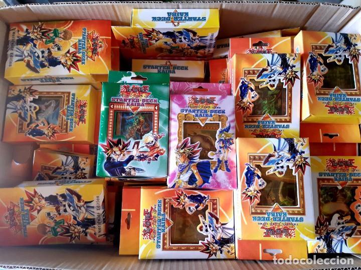Juegos Antiguos: STARTER DECK KAIBA -LOTE DE 92 Paquetes Por Abrir - Foto 4 - 215888652