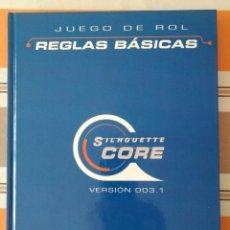 Juegos Antiguos: MANUAL DE REGLAS DEL SISTEMA SILHOUETTE - JUEGO DE ROL CORE RULES SILCORE. Lote 216646195