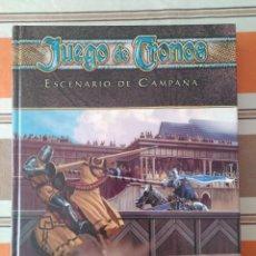 Juegos Antiguos: JUEGO DE TRONOS ESCENARIO DE CAMPAÑA - JUEGO DE ROL. Lote 216647062