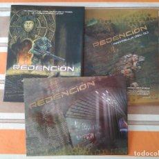 Juegos Antiguos: REDENCION PACK CON PANTALLA DEL DJ - JUEGO DE ROL. Lote 216647182