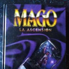 Juegos Antiguos: MAGO LA ASCENSION BASICO EDICION REVISADA (LA FACTORIA DE IDEA LF3051) - TAPA DURA. Lote 217362182