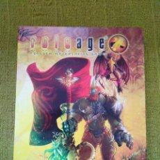 Juegos Antiguos: ROLEAGE LIBRO BASICO (NOSOLOROL) - TAPA DURA. Lote 217568803
