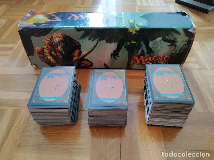 LOTE DE 556 CARTAS MAGIC THE GATHERING DECKMASTER - VER FOTOS, SE MUESTRAN TODAS (Juguetes - Rol y Estrategia - Otros)
