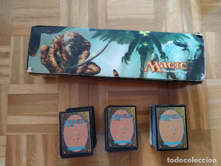 Juegos Antiguos: lote de 556 cartas magic the gathering deckmaster - ver fotos, se muestran todas - Foto 2 - 217631200