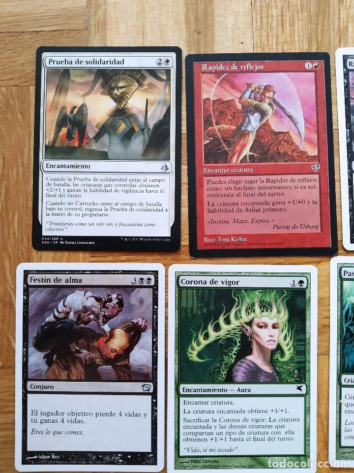 Juegos Antiguos: lote de 556 cartas magic the gathering deckmaster - ver fotos, se muestran todas - Foto 4 - 217631200