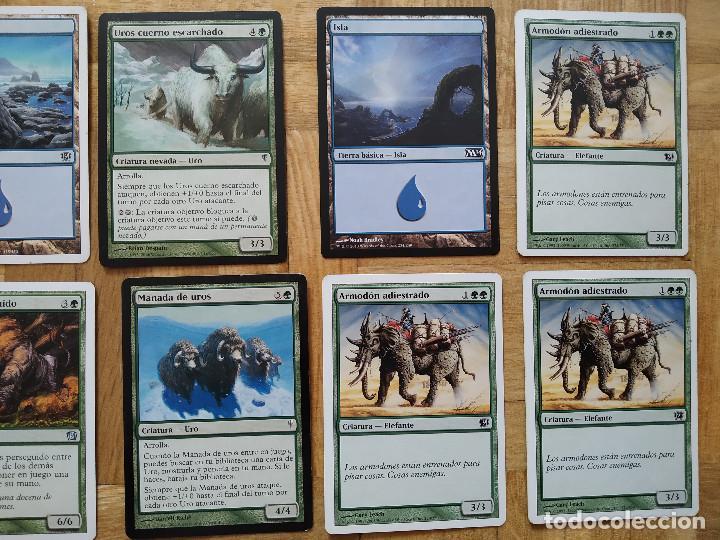 Juegos Antiguos: lote de 556 cartas magic the gathering deckmaster - ver fotos, se muestran todas - Foto 7 - 217631200