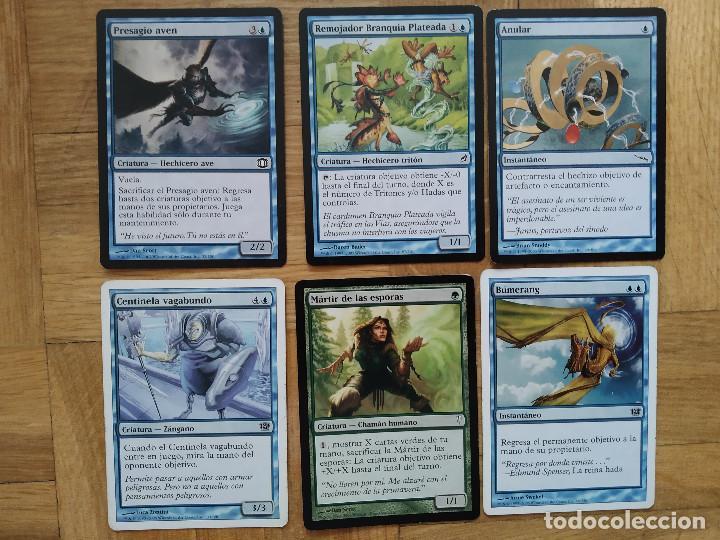 Juegos Antiguos: lote de 556 cartas magic the gathering deckmaster - ver fotos, se muestran todas - Foto 9 - 217631200
