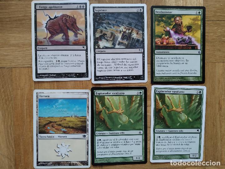 Juegos Antiguos: lote de 556 cartas magic the gathering deckmaster - ver fotos, se muestran todas - Foto 19 - 217631200