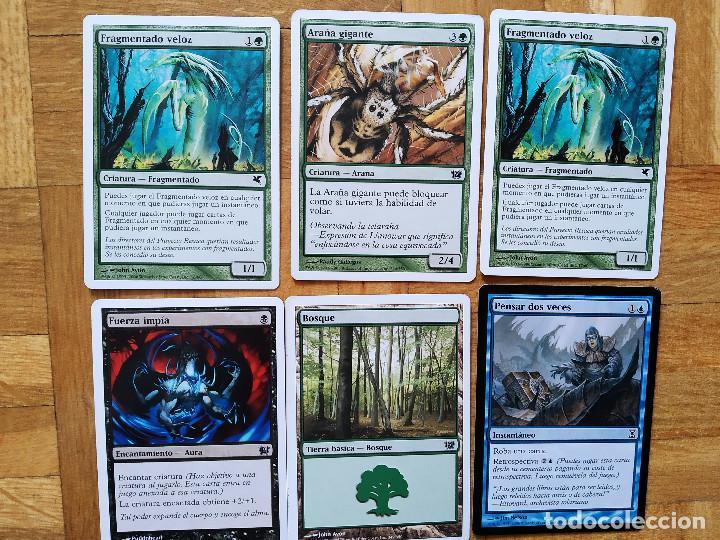 Juegos Antiguos: lote de 556 cartas magic the gathering deckmaster - ver fotos, se muestran todas - Foto 22 - 217631200