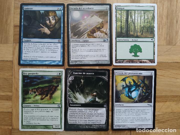 Juegos Antiguos: lote de 556 cartas magic the gathering deckmaster - ver fotos, se muestran todas - Foto 24 - 217631200
