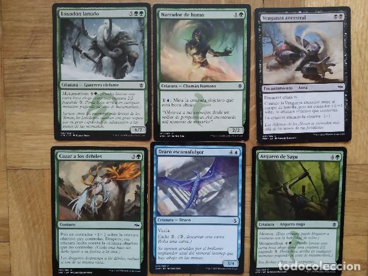 Juegos Antiguos: lote de 556 cartas magic the gathering deckmaster - ver fotos, se muestran todas - Foto 30 - 217631200