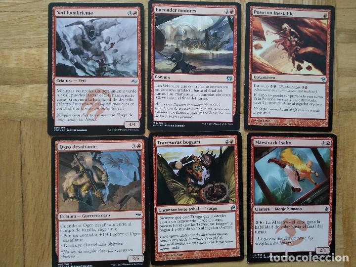 Juegos Antiguos: lote de 556 cartas magic the gathering deckmaster - ver fotos, se muestran todas - Foto 37 - 217631200