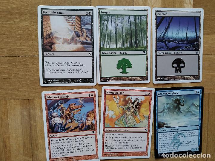 Juegos Antiguos: lote de 556 cartas magic the gathering deckmaster - ver fotos, se muestran todas - Foto 43 - 217631200