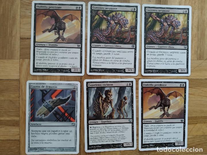 Juegos Antiguos: lote de 556 cartas magic the gathering deckmaster - ver fotos, se muestran todas - Foto 48 - 217631200