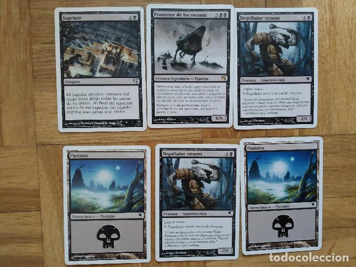 Juegos Antiguos: lote de 556 cartas magic the gathering deckmaster - ver fotos, se muestran todas - Foto 49 - 217631200