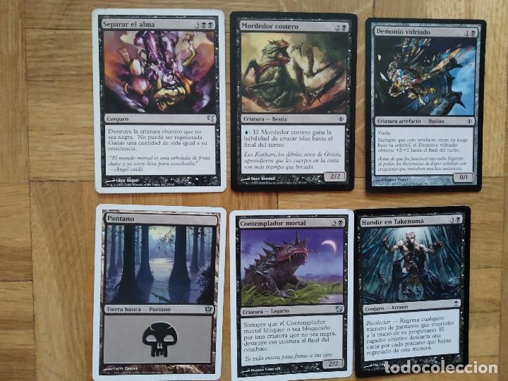 Juegos Antiguos: lote de 556 cartas magic the gathering deckmaster - ver fotos, se muestran todas - Foto 55 - 217631200
