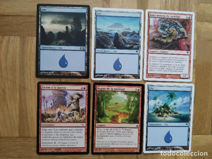 Juegos Antiguos: lote de 556 cartas magic the gathering deckmaster - ver fotos, se muestran todas - Foto 68 - 217631200
