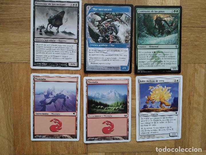 Juegos Antiguos: lote de 556 cartas magic the gathering deckmaster - ver fotos, se muestran todas - Foto 79 - 217631200